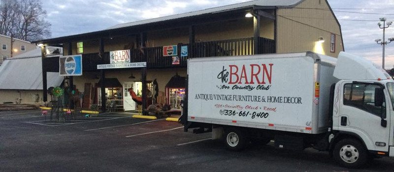 About The Barn on Country Club in Winston-Salem, North Carolina