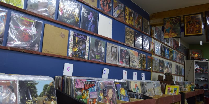 Vinyl Record Stores in Winston-Salem, North Carolina