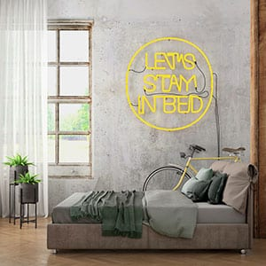 Today's Trends: How to Decorate with Neon Signs at Home